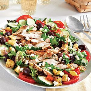 Mrs. True's Salad with Grilled Chicken