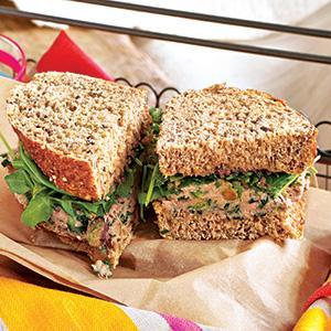Lemon-Pistachio Tuna Sandwich