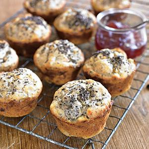 Gluten-Free Lemon Chia Muffins