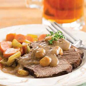 Gingered Sauerbraten