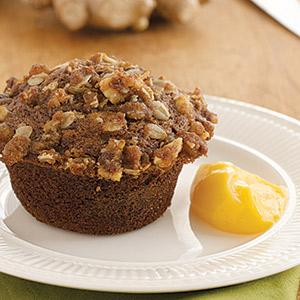Double Ginger Muffins