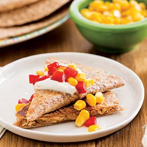 Build-Your-Own Tuna Melt Quesadillas