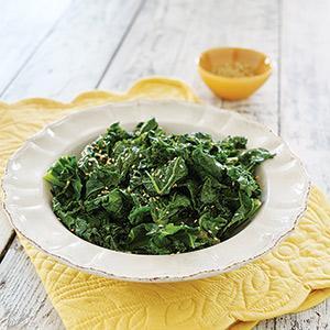 Kale with Sesame Sauce