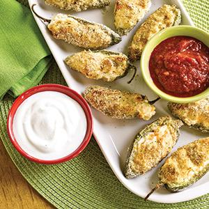 Slimmed-Down Jalapeno Poppers