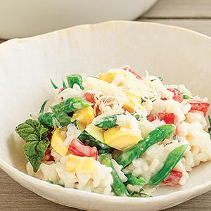 Risotto With Milk and Summer Vegetables