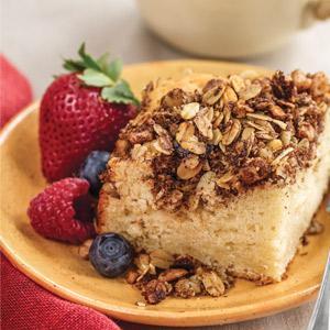 Dreamy Sour Cream Coffee Cake