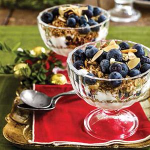 Yogurt Parfait with Skillet Granola