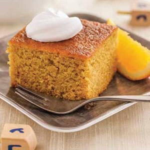 Orange Olive Oil Snack Cake