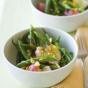 Dilled New Potato and Green Bean Salad