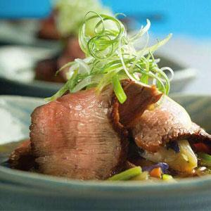 Teriyaki Beef and Noodle Bowl