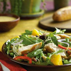 Citrus Chicken and Edamame Salad