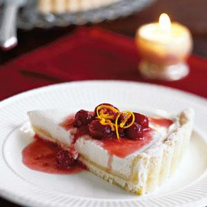 Cranberry-Orange Mascarpone Cream Tart