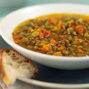 Lentil Stew with Dried Fruit