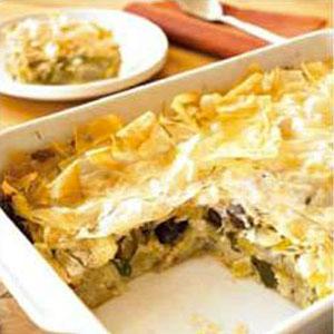 Prassopita (Greek Potato and Leek Pie)