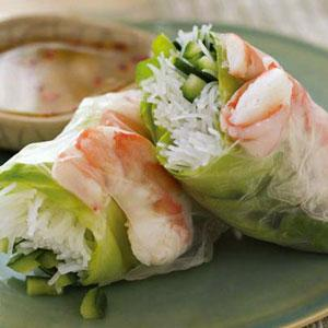 Summer Rolls with Nuoc Cham