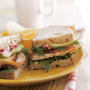 Hot Roasted Turkey Sandwiches