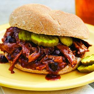 Blueberry Barbecued Pork
