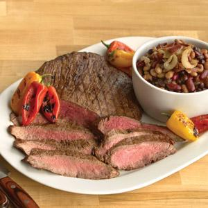 Grilled Italian Marinated Flank Steak at Hannaford