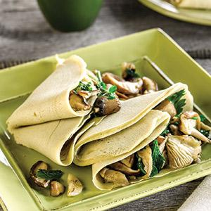Savory Buckwheat Crepes with Adaptable Fillings