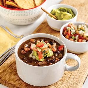 Slow Cooker Super Easy Black Bean Soup