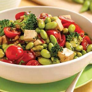 Italian Edamame Salad