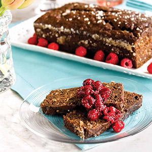 Chocolate Loaf Cake Noir