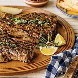 Tuscan Marinated T-bone Steak