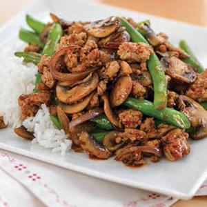 Chinese Pork and Green Beans