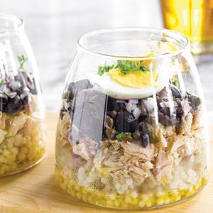 Moroccan Tuna Salad with Israeli Couscous