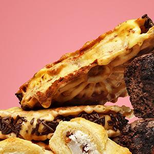 """""""Tiramisu"""" Ice Cream Sandwiches"""