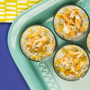 Tropical Chia Pudding Cups