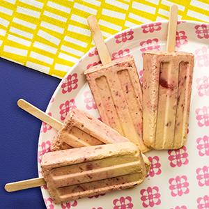 PB&J Yogurt Pops
