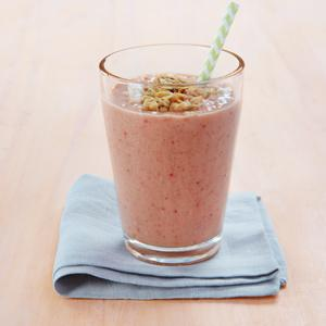 Fruit and Granola Smoothie