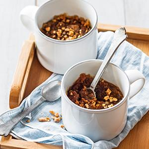 Stout and Toffee Mug Cake