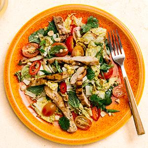 Thai-Style Grilled Chicken Salad
