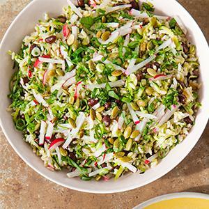 Brown Rice Salad with Cumin-Lime Vinaigrette