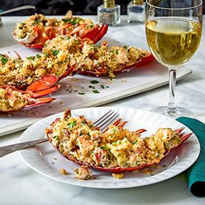 Lobster Andouille Stuffies