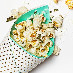 Brown Butter-Sage Popcorn