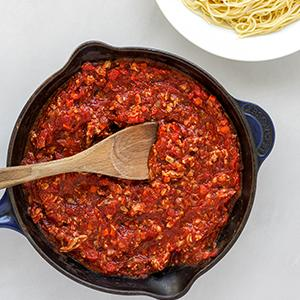 Quick Turkey Bolognese