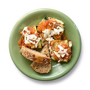 Zucchini and Chicken Rollatini