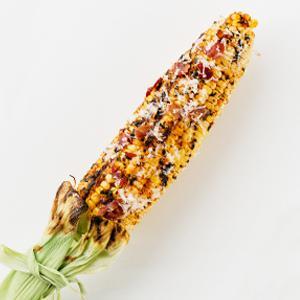 Smoky Prosciutto Grilled Corn