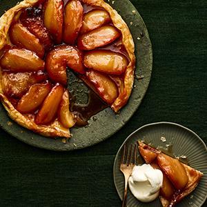 Apple-Honey Tarte Tatin