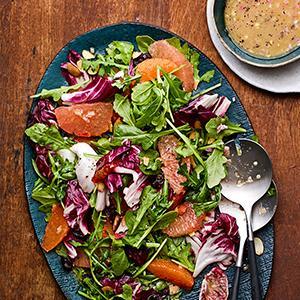 Citrus, Arugula, and Radicchio Salad