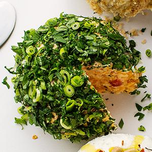 Spicy Pimento Cheese Ball