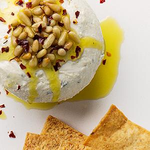 Zesty Mediterranean Cheese Ball