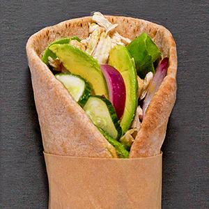 Maple-Mustard Chicken Pitas