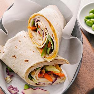 Thai Curry Chicken Wrap