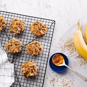 3-Ingredient Breakfast Cookies