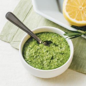 Mint and Pea Pesto