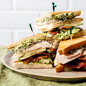 Green Goddess Turkey Clubs